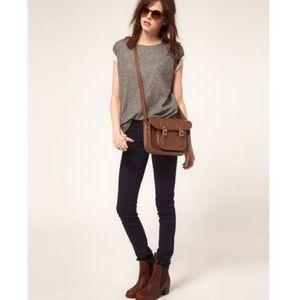 Cambridge Satchel Co. | Brown Leather Crossbody